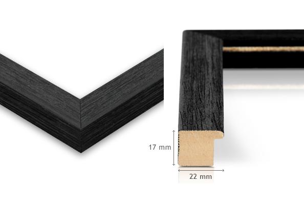 Rahmen Detail schwarz